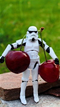 wallpaper iPhone stormtroopers toys 5