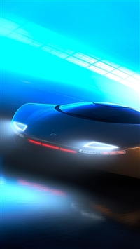 wallpaper iPhone Concept Car Speed 7