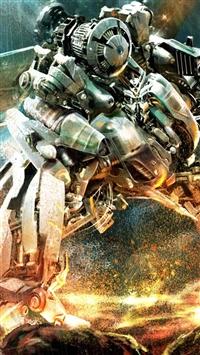 wallpaper iPhone Transformers Robot War 10