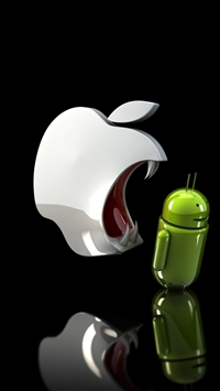 wallpaper iPhone Apple Ready To Eat Android 1