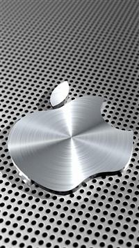 wallpaper iPhone Metal Apple Logo 9