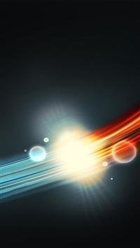 wallpaper iPhone Light Line 11