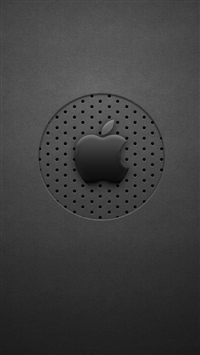 Wallpaper Iphone Black Dots Apple Logo 11 12070