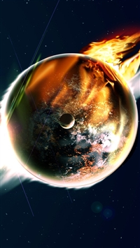 wallpaper iPhone End of the World 11