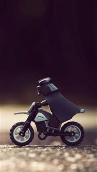 wallpaper iPhone Lego Darth Vader 3