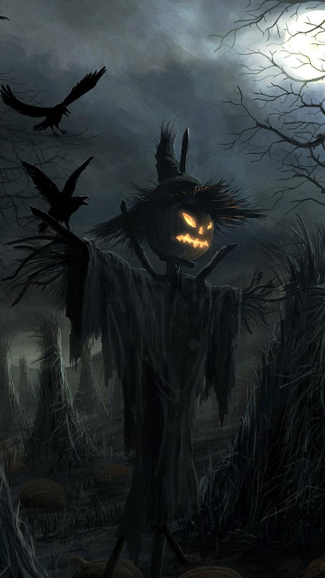 wallpaper iPhone Halloween Theme 7