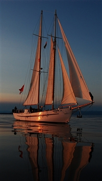 wallpaper iPhone Sailing 6
