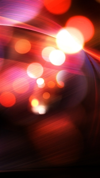 wallpaper iPhone Abstract Red Bokeh 7