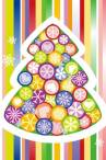 wallpaper iPhone Colorful Xmas Tree