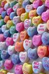 wallpaper iPhone Conversation Hearts